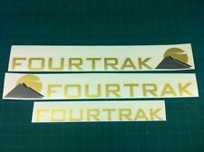 Daihatsu FOURTRAK 2.8 4x4 side and tailgate replacement Decals Stickers