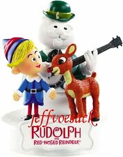 "Rudolph the Red Nosed Reindeer ""Holly Jolly Christmas"" Carlton ornament *SALE*"