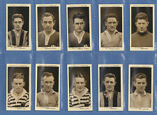 FOOTBALL  - STEPHEN MITCHELL - SET OF 50  SCOTTISH  FOOTBALLERS  CARDS  -  1934
