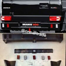 BRABUS Style Rear Bumper Full Set with all Hooks and LED W463 G55 G63 G65