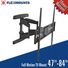 Articulating LED LCD TV Wall Mount Bracket 47 49 50 55 56 59 60 65 70 79 80 84""