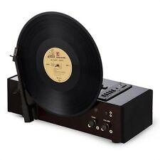 AUNA VERTICAL verticale record player 33/45/78 Rpm USB SD Mp3 Codificatore CHERRY