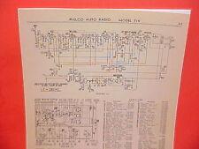 1936 STUDEBAKER 1937 REO WILLYS PHILCO RADIO SERVICE MANUAL T15 R-1415 W-1419
