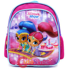 Shimmer and Shine School Backpack Nick Toddler Bag 10in Girls Bag - Flying