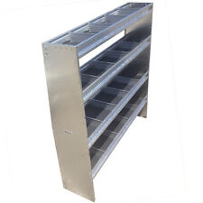 "60"" Height 60"" Wide Aluminum Angled Shelving Unit"