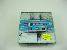 Multi Coloured Glass Ceramic Coasters Set of 4 by VINCENZA COLLECTION