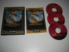 GABRIEL KNIGHT 3 Blood of the Sacred , Blood Of The Damned Pc Cd BS FAST POST