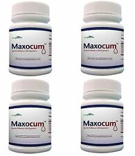 4x Maxocum Pills Increase Semen Volume 500% More Sperm Massive Load Maxo Cum