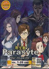 PARASYTE THE MAXIM VOL. 1-26 END ANIME DVD BOXSET ENGLISH SUBTITLES