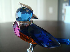 Swarovski Crystal Paradise Benua Bird BRAND NEW RETIRED 284066 RARE Parrot  MINT