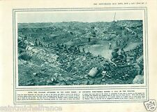 Italy Carso Karst Front Fire-Trench / Vaux-devant-Damloup WWI 14 18 PLANCHE 1916