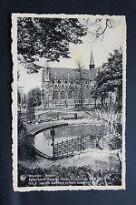 Carte postale ancienne BELGIQUE - BRUXELLES - Eglise et Square du Petit Sablon