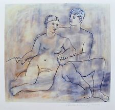 "Pablo Picasso ""THE LOVERS NUDE"" Estate Signed Limited Edition Giclee"