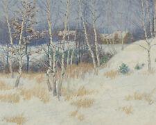 Filamento de Abedul Árboles en invierno John Breck 24' Lienzo