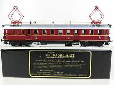 GL33 - BRASS MODEL MICRO-METAKIT 08204H Rail Car winered-black DB No. ET 85 01