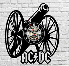 AC DC_Exclusive wall clock made of vinyl record_GIFT 863