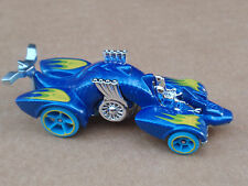 2016 Hot Wheels KNIGHT DRAGGIN' 201/250 Street Beasts LOOSE Blue