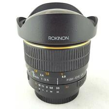 ROKINON 8mm 1:3.5 Fisheye CS Aspherical Lens For Nikon (PB1005141)