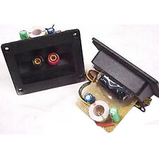 2way 802 8ohm 4khz 12db Passive Speaker Crossover Terminal Plate Tweet Protect