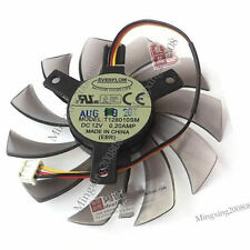 NEW 75mm 12V 0.2A 3pin T128010SM Fan VGA Video card GTX580 GTX670 560ti