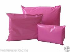 Coloured Mailing Plastic Polythene Mail Poly Bags 60 micron Strong Self Seal