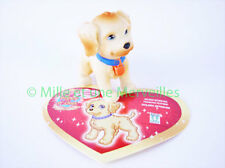 Figurine WILLIAM ou SUSANNA le Golden Retriever + sa carte  Puppy  in my Pocket