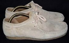 CLARKS ORIGINALS TAN SUEDE DESERT SHOES MENS UK 8 G