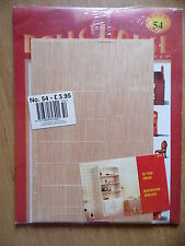 DelPrado Dolls House Step by Step Magazine & Parts No.54 Bathroom Shelves