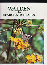 WALDEN-THOREAU-COUNTRY BEAUTIFUL 1ST 1976-HB-LOVELY LARGE COLOR PHOTO GIFT BOOK