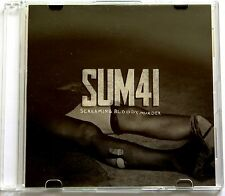 SUM 41 Screaming Bloody Murder Rare 2011 Japan DJ CD Single