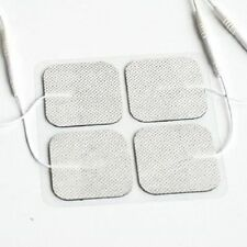 20 Replacement Electrode Tens Units ELECTRODE PADS 2 x 2 Inch White Cloth