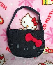 Hello Kitty Denim Pouch with Strap #93