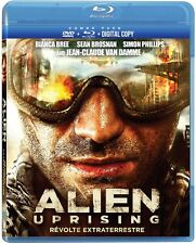 Alien Uprising (Blu-ray + DVD) Jean-Claude Van Damme NEW