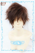 Cosplay Short Brown Mix Kaito Kuroba Kaito Kid the Phantom Thief Magic Wig Wavy