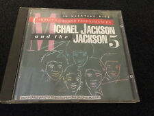 MICHAEL JACKSON & THE JACKSON 5 - 18 GREATEST HITS - CD