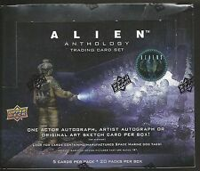 2016 Upper Deck Alien Anthology sealed 20-pack hobby box 1 autograph per box