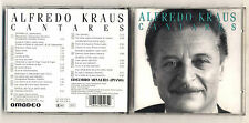 Cd ALFREDO KRAUS Cantares PERFETTO 1990 Amadeo Edelmiro Arnaltes