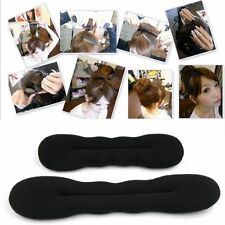 Magic Sponge Clip Donut Hair Styling Bun Curler Tool Maker Ring Twist 2 Pcs