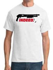 Shotgun Indeed - Funny Gangster - Mens T-Shirt