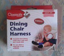 Clippasafe chaise salle à manger harnais jeune enfant bébé repas de sécurité