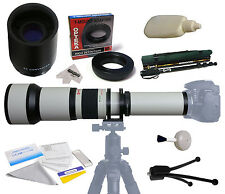 Opteka 650-2600mm HD Telephoto Lens for Canon EOS Rebel T3i T4i T5 T5i DSLR