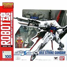 Bandai The Robot Spirits Action Figure Aile Strike Gundam Seed RS 100 Genuine