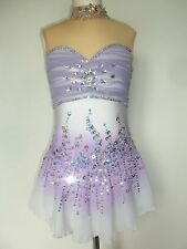 CUSTOM NEW FIGURE ICE SKATING BATON TWIRLING DRESS