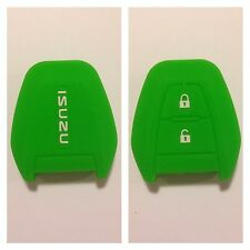 ISUZU DMAX GREEN CAR KEY COVER CASE PROTECTOR SILICONE D-MAX MUX TRUCK UTE 13