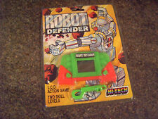 ROBOT DEFENDER HI-TECH LCD GAME NEW OLD STOCK SIGILLATO