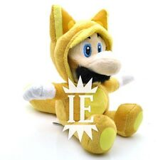 SUPER MARIO BROS. LUIGI FOX PELUCHE volpe volante new plush ds mansion 2 raccoon