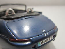 BMW Z8 CONVERTABLE TOY MIASTO 1:38 Diecast Car Model