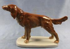 Irish Setter porzellanfigur hundefigur figur porzellan P Hutschenreuther alt