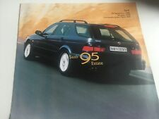 Catalogue brochure  SAAB 95 ESTATE 4 PAGES ANNEE 1998