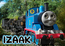 PERSONALISED THOMAS THE TANK ENGINE A4 LAMINATED TABLE PLACE MAT - ADD YOUR NAME